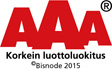 AAA - Korkein luottoluokitus